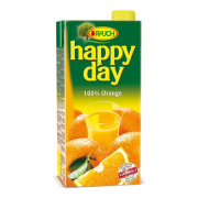 Džús Happy Day Pomaranč 100% 2l